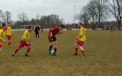 Drogeham 2 wint 2 – 0 van Wilper Boys 2.