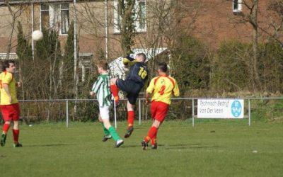Drogeham 2 houdt stand in spannend duel tegen Jistrum 1   2 – 2