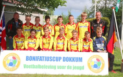 Drogeham JO15 laat prima indruk achter op de Bonifatiuscup!