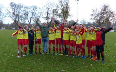 JO15-1 VV Drogeham ongeslagen kampioen!